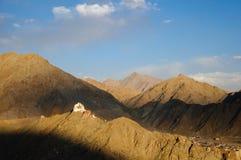 Monasterio de Namgyal Tsemo, Leh, Ladakh, la India Imagen de archivo
