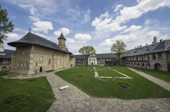 Monasterio de Neamt Imágenes de archivo libres de regalías