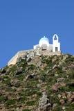 Monasterio de Nissyros imagenes de archivo