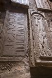 Monasterio de Noravank, Armenia - 18 de septiembre de 2017: Interior del Fa Fotos de archivo