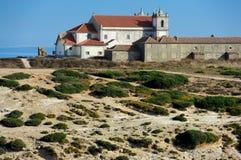 MOnasterio de Nossa Senhora do Cabo Espichel, Portugal Royalty Free Stock Images
