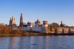 Monasterio de Novodevichy fotos de archivo