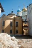 Monasterio de Novospassky en Moscú. Foto de archivo libre de regalías