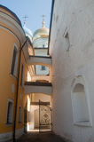 Monasterio de Novospassky en Moscú. Fotos de archivo