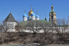 Monasterio de Novospassky en Moscú. Fotografía de archivo
