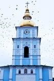 Monasterio De oro-Abovedado Ucrania de San Miguel Foto de archivo libre de regalías
