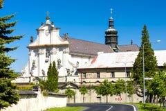 Monasterio de Osek Foto de archivo libre de regalías