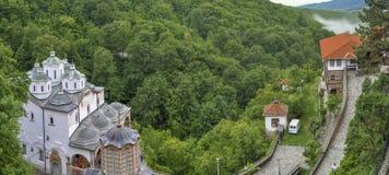 Monasterio de Osogovo, Kriva Palanka, Macedonia Foto de archivo libre de regalías