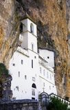 Monasterio de Ostrog Foto de archivo libre de regalías