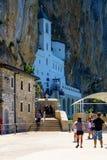 Monasterio de Ostrog Fotos de archivo libres de regalías