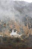 Monasterio de Ostrog fotografía de archivo libre de regalías