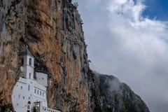 Monasterio de Ostrog Fotos de archivo