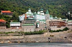 Monasterio de Panteleimonos Fotos de archivo libres de regalías
