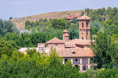 Monasterio DE Piedra in het natuurreservaat Royalty-vrije Stock Foto's