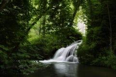 Monasterio de piedra waterfall Stock Photos