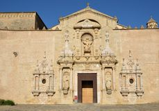 Monasterio de Poblet Foto de archivo