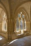 Monasterio de Poblet Imagen de archivo libre de regalías
