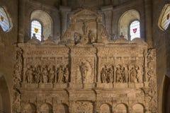 Monasterio de Poblet - Cataluña - España Imágenes de archivo libres de regalías