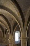 Monasterio de Poblet - Cataluña - España Foto de archivo libre de regalías