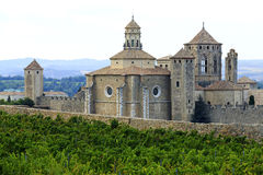 Monasterio de Poblet, España Fotografía de archivo