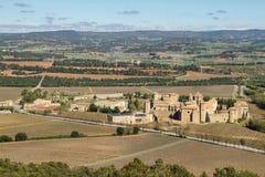 Monasterio de Poblet, España Imagenes de archivo