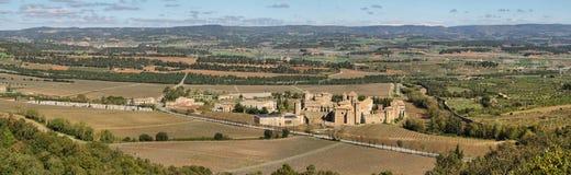 Monasterio de Poblet, España Foto de archivo
