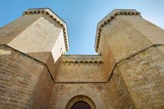 Monasterio de Poblet, España Imagen de archivo libre de regalías