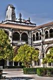Monasterio de Portugal, histórico y del pisturesque de Alcobaca Imagen de archivo