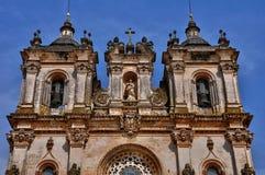 Monasterio de Portugal, histórico y del pisturesque de Alcobaca Fotos de archivo libres de regalías