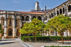 Monasterio de Portugal, histórico y del pisturesque de Alcobaca Foto de archivo libre de regalías