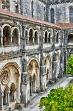 Monasterio de Portugal, histórico y del pisturesque de Alcobaca Imagen de archivo libre de regalías