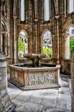 Monasterio de Portugal, histórico y del pisturesque de Alcobaca Fotos de archivo