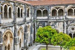 Monasterio de Portugal, histórico y del pisturesque de Alcobaca Fotografía de archivo