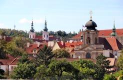 Monasterio de Praga Fotografía de archivo libre de regalías