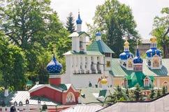 Monasterio de Pskov-Pechersky, Rusia Fotos de archivo libres de regalías