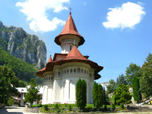 Monasterio de Ramet Fotos de archivo libres de regalías