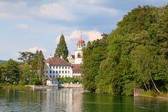 Monasterio de Rheinau Fotografía de archivo