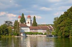 Monasterio de Rheinau Imagen de archivo libre de regalías