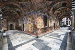 Monasterio de Rila Fotos de archivo