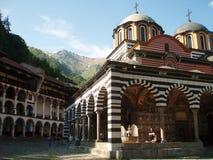 Monasterio 2 de Rila fotos de archivo libres de regalías
