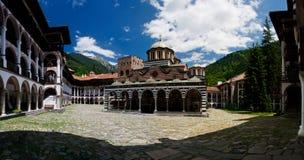 Monasterio de Rila imagenes de archivo