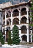 Monasterio de Rila en Bulgaria imágenes de archivo libres de regalías