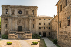 Monasterio de Samos foto de archivo