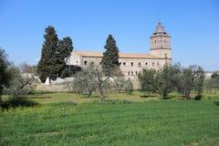 Monasterio de San Isidoro del Campo en Santiponce Sevilla imagen de archivo