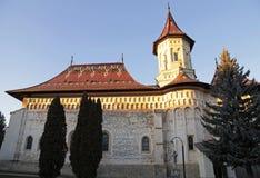 Monasterio de San Juan el nuevo, Suceava, Rumania imágenes de archivo libres de regalías