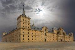 Monasterio de San Lorenzo en el EL Escorial, Madrid Imágenes de archivo libres de regalías