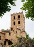 Monasterio de San Martín du Canigou Fotografía de archivo