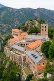 Monasterio de San Martín du Canigou Imagen de archivo libre de regalías