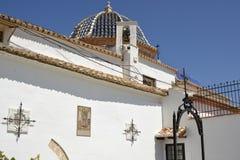 Monasterio de San Miguel, Lliria, España Fotos de archivo