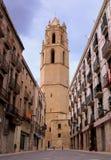 Monasterio de Sant Pere. Reus, España Foto de archivo libre de regalías